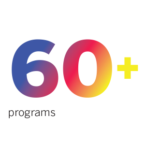 words 60+ programs