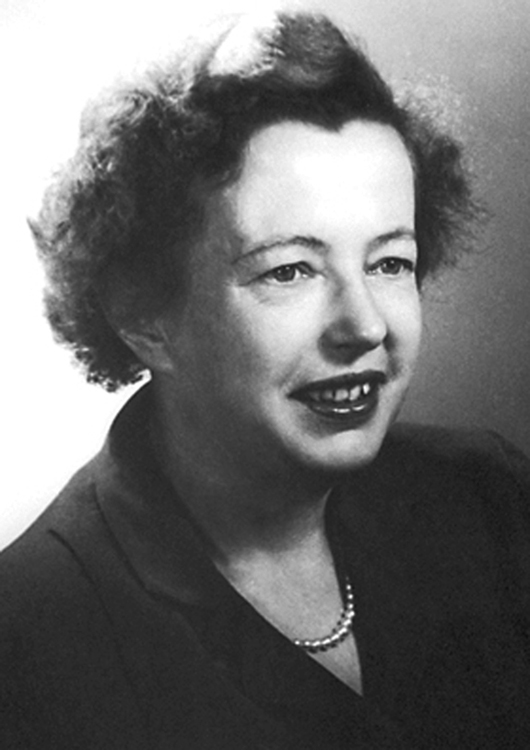 Portrait of Maria Goeppert Mayer