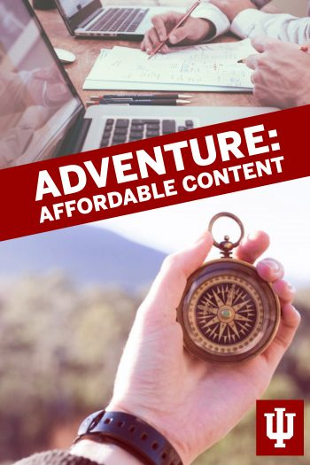 Cover image for Adventure: Affordable Content
