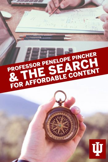 Cover image for Professor Penelope Pincher & the Search for Affordable Content