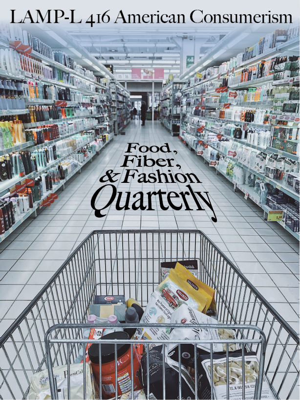 Cover image for Food, Fiber, and Fashion Quarterly