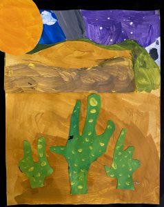 Cacti by Anton T., grade 8