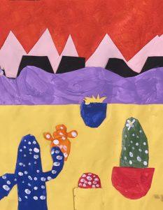 Cacti by Ella S., grade 6