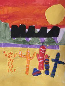 Cacti by Jacob C., grade 5