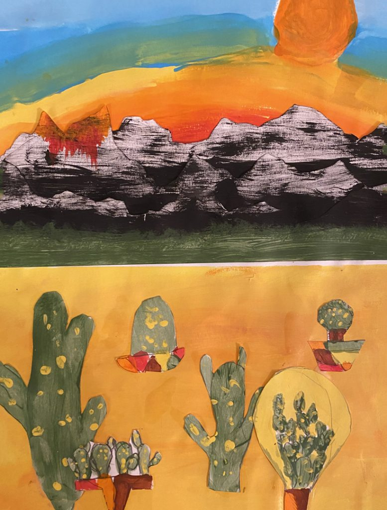 Cacti by Nick M., grade 6