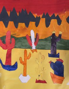 Cacti by Tommy S., grade 5