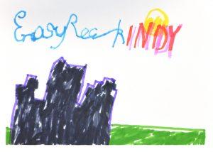 Daniel Moore, Easy Rock Indy, Drawing