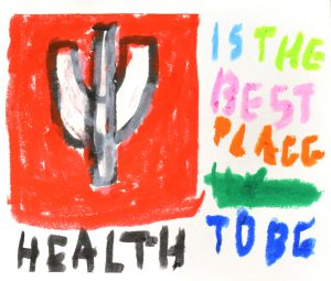 Daniel Moore, IU Health Is The Best Place To Be, Drawing