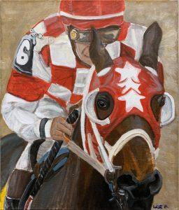 Krista Darrow, Race, painting