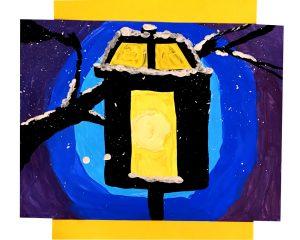 Lamppost by Alex V., grade 10