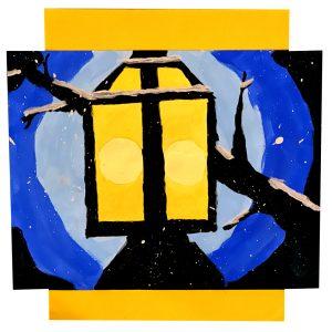 Lamppost by Sam W., grade 8