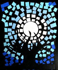 Mosaic by Jizeal M., grade 8