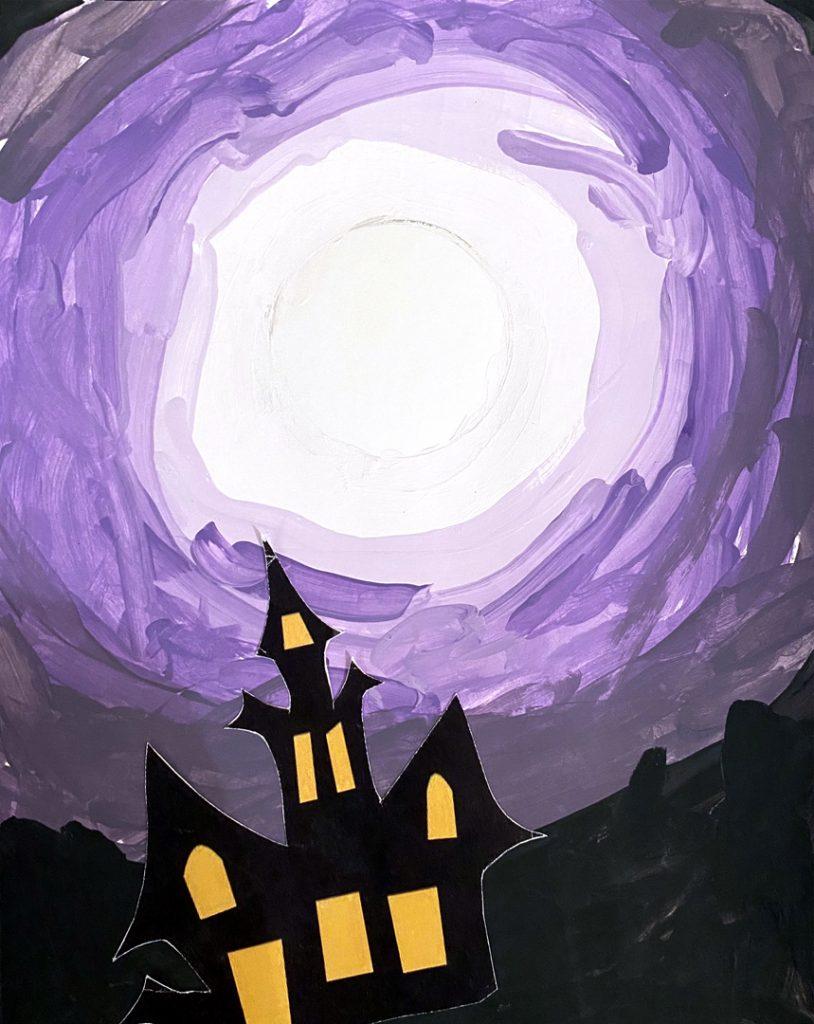 Night by Lauren M., grade 6
