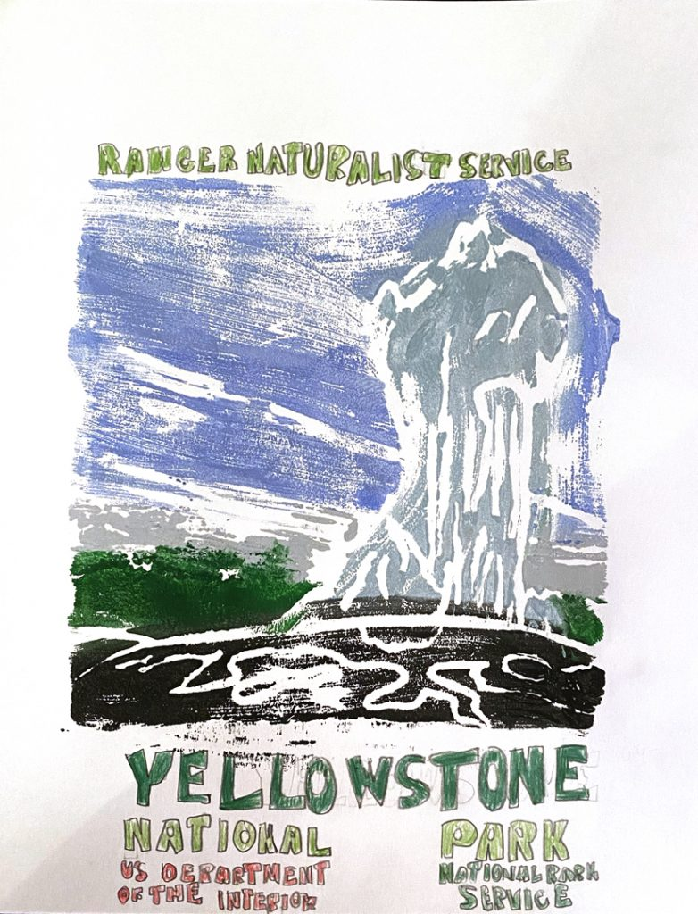 Yellowstone by Elliot H., age 19